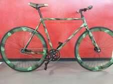 BICI FIXED MILITARE CAMO CONTROPEDALE COASTER BRAKE CAMOUFLAGE