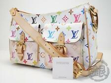 AUTH PRE-OWNED LOUIS VUITTON LV MULTI COLOR LODGE GM MESSENGER BAG M40051 133257