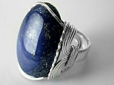 Bold Lapis Lazuli Ring Sterling Silver .925 Mens or Ladies Blue