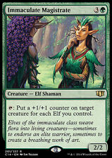 IMMACULATE MAGISTRATE NM mtg Commander 2014 Green - Elf Shaman Rare