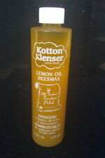HOME RENTAL RESTORATION KOTTON KLENSER LEMON OIL BEESWAX POLISH FOR WOOD 10 OZ