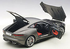 Autoart  JAGUAR F-TYPE 2015 R COUPE MATT GREY 1/18 Scale New Release! In Stock!