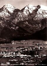 Ruhpolding / Obb. mit Sonntagshorn  , Ansichtskarte , ungelaufen