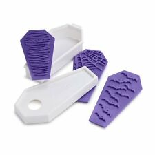 Tovolo Halloween Coffin Cookie Cutter & Design Stamps