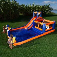 Inflatable Water Slide Bounce House Commercial Bouncer Jumper Park Pool Splash