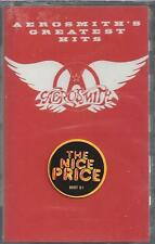 AEROSMITH GREATEST HITS  Sweet Emotion Walk This Way Steven Tyler NEW CASSETTE
