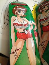 Hook-Ups Hoot-Ups Hooters Skateboard Deck Sean Cliver  Supreme Condition
