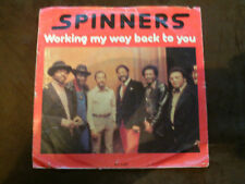 Atlantic 7 inch Single WORKING MY WAY BACK TO YOU  von SPINNERS ( 1979)