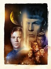 Star Trek # 10 - 8 x 10 Tee Shirt Iron On Transfer television series characters