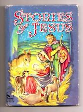 Stories of Jesus Vintage Childrens Book Christmas Gift Whitman Story Hour