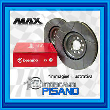 09.8670.75 DISCHI BREMBO MAX ANTERIORE PEUGEOT 607 2.7 HDi 24V 204 CV DT17TED4