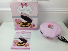 Sweet Treats Pink Cup Cake Maker New