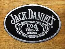 JACK DANIELS Patch Embroidered Iron-On Drink Patches, Excellent