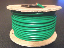 #14 AWG Gauge, 50' Foot, Green, Copper Power Wire, Stranded, Primary MTW New
