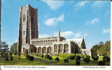 Suffolk: St Peter and St Paul's Church, Lavenham - Unposted 1980