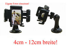 Universal KFZ Halterung Handyhalterung 4cm - 12cm Halter Handy  für Auto NEU