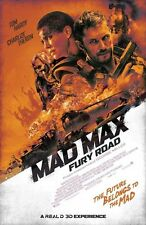 MAD MAX FURY ROAD (2015) Movie Poster CHARLIZE THERON TOM HARDY 24X32 Inch