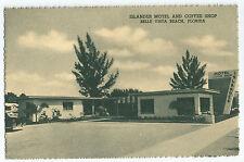 Belle Vista Beach FL Islander Motel Coffee Shop Gulf Blvd Vintage Postcard