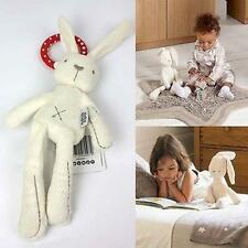 Baby Infant bed Stroller Hanging Rattle Plush Soft Musical Rabbit toy