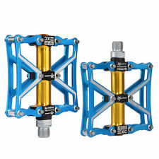 RockBros Cycling Pedals Z4 Sealed Bearing CNC Spindle Aluminum Alloy Pedals Blue