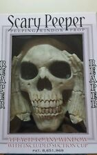 GRIM REAPER Window Prank Over the Hill Party decoration Scary Peeper old fart