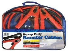 Professional Heavy Duty 400 Amp 2.5m Length Crocodile Clip Booster Cables
