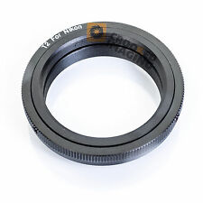 T2 MOUNT LENS ADAPTER to NIKON F AF Camera Body - Fits Film and Digital