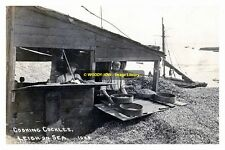 rp13920 - Cooking Cockles at Leigh-on-Sea , Essex - photo 6x4