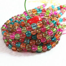 """New 8mm Multicolor Tourmaline Round Loose Beads 15"""" AAA ##HK2107"""
