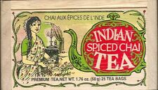 Indian Spiced Chai Tea - 25 Bags - Decorative Box