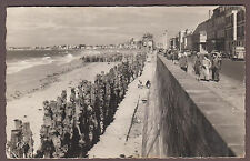 Saint Malo Brittany France 1950s RPPC Real Photo Postcard English Channel