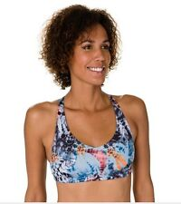ONZIE Hot Yoga Pilates Dance Run Swim RacerBack Top Bra 315 Navajo Small/ Medium