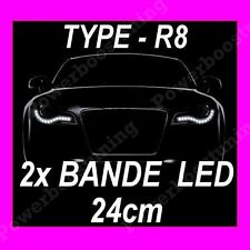 BANDE LED FEUX DE JOUR DIURNE FEU BLANC PEUGEOT 106 107 206 207 306 307 308 407