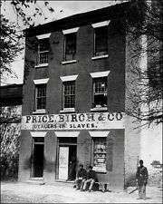 Slave Auction House #1 Photo 8X10 - Alexandria VA 1865 - Buy Any 2 Get One FREE