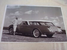 1954 CHEVROLET CORVETTE  NOMAD WAGON SHOW CAR   11 X 17  PHOTO  PICTURE