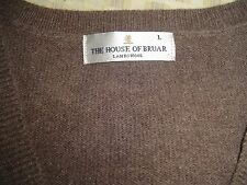 House of Bruar Lambswool Sleeveless Pullover L