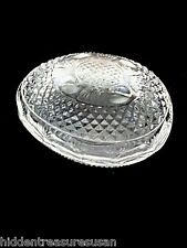 Avon Mother's Day 1977 Fostoria Crystal Egg
