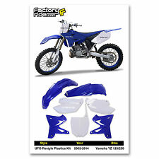 2002-2014 YAMAHA YZ 125-250 Restyle UFO Dirt Bike Plastics kit