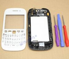COQUE COMPLETE FACADE CHASSIS REMPLACEMENT BLACKBERRY CURVE 9320 BLANC + CLAVIER
