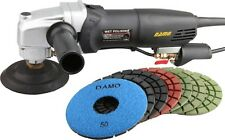 "DAMO Stone Polisher/Concrete Polisher 5"" Wet Polishing Kit for Floor/Countertop"