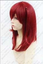 Magi The labyrinth of magic Morgiana Wine Red Cosplay Wig MI6