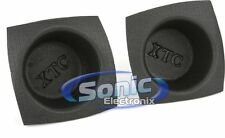 "The Install Bay VXT65 XTC Pair of 6.5"" Small Frame Foam Speaker Baffles"