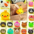 Wallet Kawaii Womens'/Girls' Gift Cartoon Animal Silicone Jelly Coin Purse zws