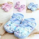New Newborn Baby Girl Toddler Shoes Lovely Floral Bowknot Cozy Cotton Crib Shoes