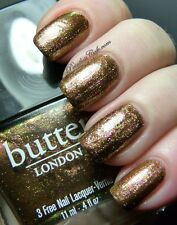 NEW! Butter London in SCUPPERED Nail Vernis Polish ~ 3-free polish
