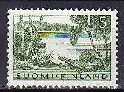 A7570). FINLAND 1961 Scott# 380 MNH** Rowboat