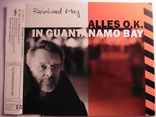 """Reinhard Mey   Alles O.K. in Guantanamo Bay   5"""" Promo Maxi - CD   2004 rar  !!!"""
