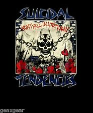SUICIDAL TENDENCIES cd lgo WON'T FALL IN LOVE TODAY Official SHIRT MD still cyco