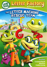Leapfrog Letter Factory Adventures: The Letter Machine Rescue Team [DVD], Good D