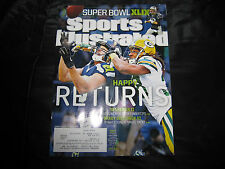 "Super Bowl Preview Seattle Seahawks II ""Happy Returns""  Sports Illustrated Cover"